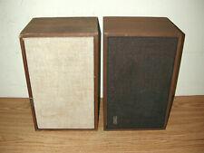 VINTAGE AMPEX WIDE RANGE SPEAKER SYSTEM MODEL 515 AND 516