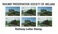 (I.B) Ireland Cinderella : Railway Preservation Society Mini-Sheet 55p