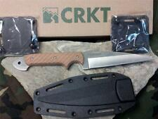 "CRKT Dragon Fighting Knife Wharncliff Blade 9"" Crawford Kasper G10 Handles 2010D"