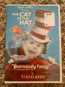 BRAND NEW Sealed MIKE MYERS in DR. SEUSS' THE CAT IN THE HAT (2003) DVD Movie!