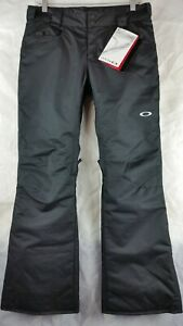 Oakley Tango Insulated Snowboard Pants Black SMALL NWT MSRP $150.00  #435