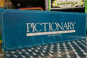Pictionary: The Game Of Quick Draw 2nd Edition 1990 Complete Vintage Board Game