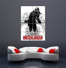 Metal gear solid snake jeu nouveau giant wall art print picture poster OZ326