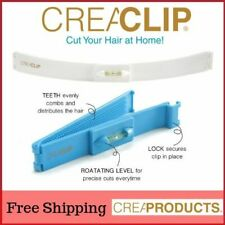 Original CreaClip Set - Hair Cutting Tool Kit Clip for Bangs Layers Split Ends