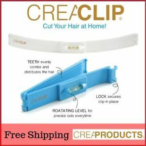 Original CreaClip Set - Hair Cutting Tool Kit Clip for Bangs Layers Split Ends