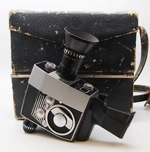 Vintage Bolex S1 Zoom Reflex Automatic Cine Camera (Cased) - Spares