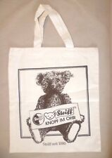 Vintage Steiff Teddy Bear Collectable - Knopf Im Ohr Seit 1880 Canvas Tote Bag