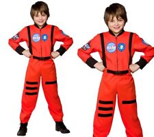 Spaceman Space Suit Outfit Astronaut Boys Fancy Dress Costume Age 3/13