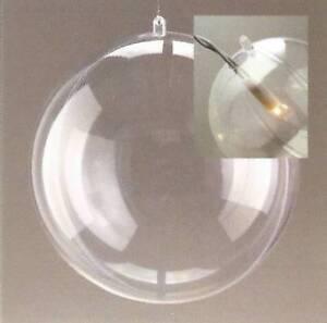 1 Kunststoffkugel mit Loch teilbar 18 cm