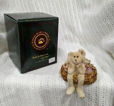 """Boyds Bears """"Tillie Hopgood The Eggsitter"""" Easter Figurine Shelf Sitter #227734"""