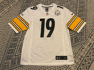 NIKE JuJu Smith-Schuster Pittsburgh Steelers On Field Away Jersey Size Medium