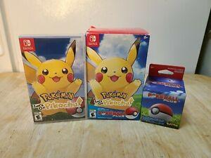 Pokemon Let's Go, Pikachu! - Poke Ball Plus Pack (Nintendo Switch, 2018) NTSC