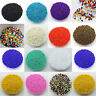 Wholesale 1000Pcs Opaque Glass Seed Spacer Beads Jewelry Finding DIY Craft 2MM