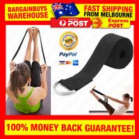 Yoga Stretch Strap D-Ring Belt Gym Fitness Belts Yoga Straps