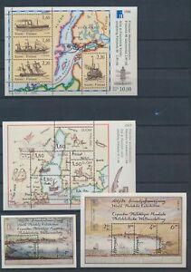 XC59667 Finland maps ships sheets MNH