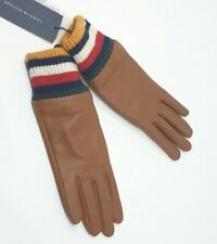 Tommy Hilfiger Damen Handschuhe, Leder, Small/Medium, Touch Screen Compatible