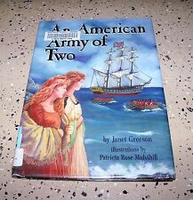 On My Own History: An American Army of Two by Janet Greeson (1992, Hardcover)