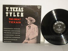 T. TEXAS TYLER The Great Texan LP Mono T The Old Country Church Praise The Lord