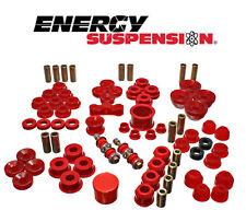 ENERGY SUSPENSION HYPER FLEX SYSTEM FOR ACURA INTEGRA 90-93 16-18104R ( RED )