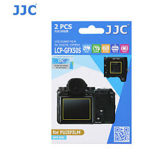 JJC LCP-GFX50S ultra hard polycarbonate LCD Screen Protector For FujiFilm G