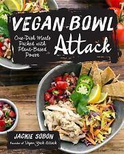 VEGAN BOWL ATTACK! - SOBON, JACKIE - NEW HARDCOVER BOOK
