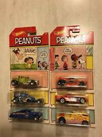 Hot wheels Peanuts (Complete Set)
