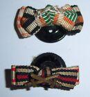 GERMAN - 2 x Button Bars. Vets. Honour Cross, Pro Deo Et Patria, & Austrian.