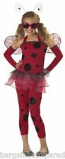 CALIFORNIA COSTUMES Love Bug ~ Medium Plus (8-10) Lady Bug NEW