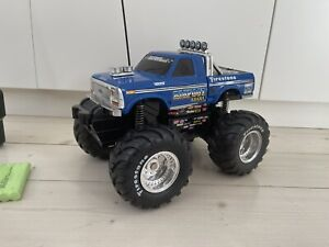 Bigfoot Monster Truck vintage remote control super rare, with Tamiya plugs