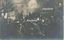 Foto/AK Aufstand-Revolution Soldaten-Bevölkerung- Ort ??? (U226)