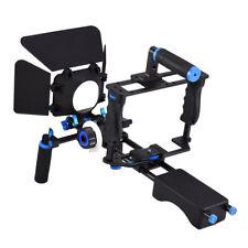 Stabilizer for DSLR Camera Cage Shoulder Rig Kit with Follow Focus Matte Box