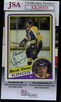 Marcel Dionne JSA Coa Hand Signed 1984 Topps Autograph