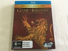 Game of Thrones: Second Season Two - JB Hi-Fi Lannister Slipcover Bonus Blu-Ray