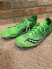 Mens Saucony Endorphin LD4 Track Spikes / Cleats Size 11 Flexfilm