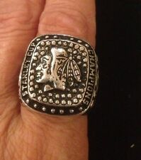 Chicago Blackhawks 2013 Sterling Silver Stanley Cup Men's 10 Ring