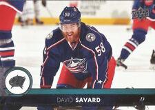 David Savard #52 - 2017-18 Series 1 - Base