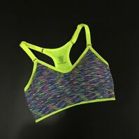 Womens Padded Yoga Sports Bra Tank Top Gym Fitness Stretch Racerback Running Bra