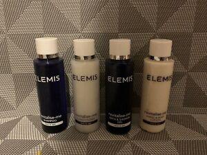 NEW Elemis Spa Shampoo Conditioner Shower Gel Hand Body Lotion 50ml Travel Set