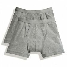 Fruit of the Loom (SS701) Classic Boxer 2 Pack All Sizes 4 Colours