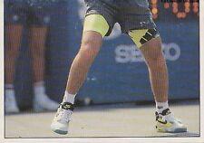 N°194 ANDRE AGASSI 1/2 USA PANINI TENNIS ATP TOUR 1992 STICKER VIGNETTE
