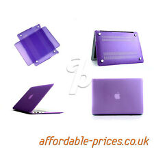 11, 13, 15 Inch Rubberised / Crystal Clear - Macbook Air / Pro Retina Case Cover