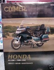 Honda GL 1500 Goldwing Clymer Repair Manual: 88-92