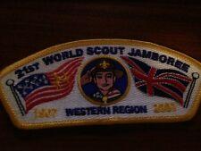 MINT 2007 World Jamboree JSP Western Region Yellow Border