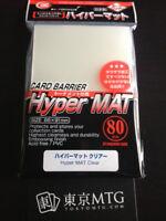 x1 pack Hyper Mat Clear KMC Card-Barrier Matte 80 ct sleeves mtg