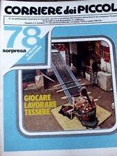Corriere dei Piccoli 11 1979  Ritratto di FONZIE - Diario di STEFI - LA PIMPA