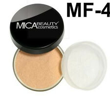 Mica Beauty Foundation Powder MF-4  Honey  + Free Nail File