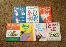 LOT/7 LARGE Dr. Seuss And Friends Beginner Books Kohl's Cares NEW HB With DJ