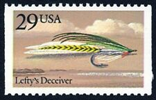 1991 Lefty's Deceiver Saltwater Fishing Fly Lefty Kreh US Stamp MINT CONDITION!