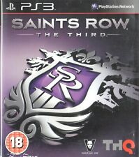 Saints Row: The Third Sony Playstation 3 PS3 18+ Action Game