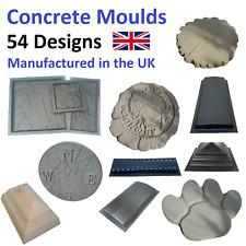 More details for concrete moulds   56 designs   multiple sizes & varieties for each type!